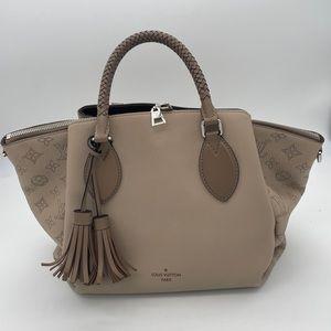 Louis Vuitton HAUMEA handbag in Galet w/box